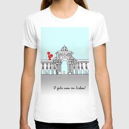 O galo voou em Lisboa! T-shirt