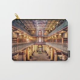 Let's Retire To The Library Carry-All Pouch