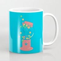 gumball Mugs featuring Balloon, Gumball by Ava Guerrero