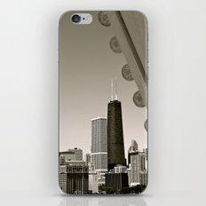 Stark Chicago in Black & White iPhone & iPod Skin