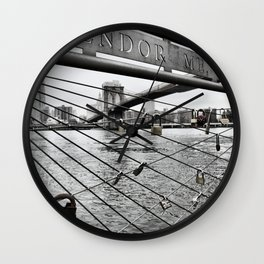 Brooklyn Bridge cc Wall Clock