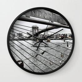 Brooklyn Bridge cc Wall Clock