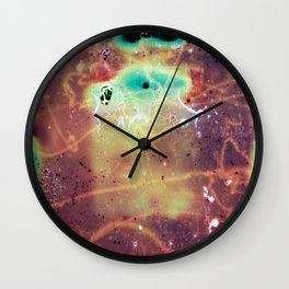"""It's a bug in my head."" Analog. Film photography Wall Clock"