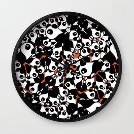 PANDA! PANDA! PANDA! Wall Clock