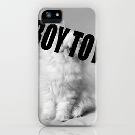 Boy Toy Cat  iPhone Case