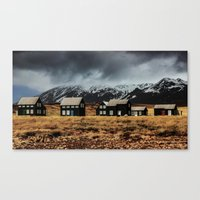 iceland Canvas Prints featuring Iceland by EclipseLio
