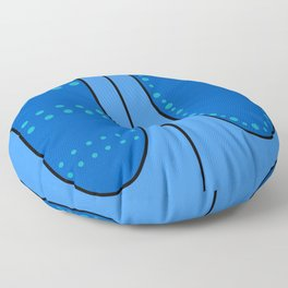 Denim Jeans Floor Pillow