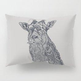 Giraffe Movember Pillow Sham