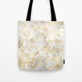 Elegant Gold swirls Tote Bag