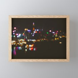 Hong Kong Island Framed Mini Art Print