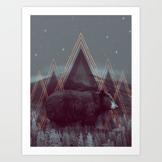 In Wildness | Bear Art Print