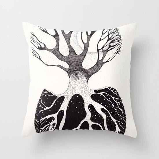 day&night Throw Pillow