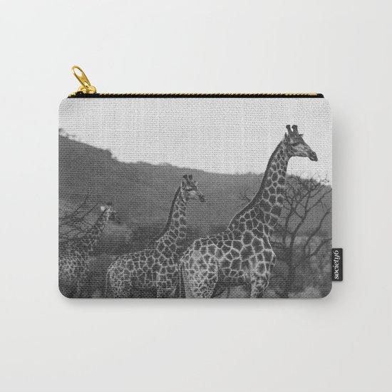 Kaleidoscope of Giraffes Carry-All Pouch