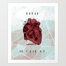 Break Art Print