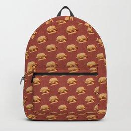 FAST FOOD / Burger - pattern Backpack