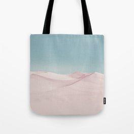Surreal Pastel Desert Tote Bag