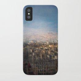 Paris Multiple Exposure  iPhone Case