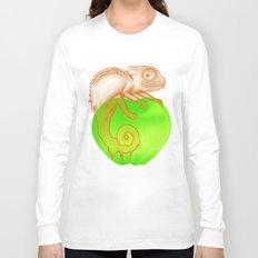 Caramel Chameleon Long Sleeve T-shirt