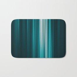 Abstract background blur motion vertical green Bath Mat