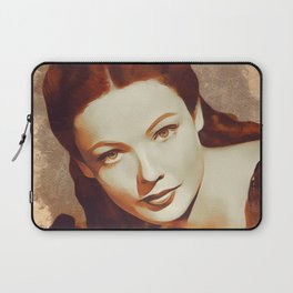 Gene Tierney, Hollywood Legend Laptop Sleeve