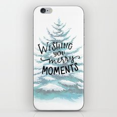 Merry Moments iPhone & iPod Skin