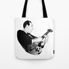 LES PAUL House of Sound - WHITE GUITAR Tote Bag