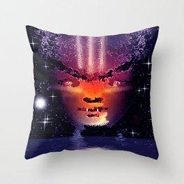Alienator. Throw Pillow