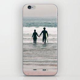surf love iPhone Skin