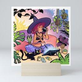 Digital Artist Witch Mini Art Print