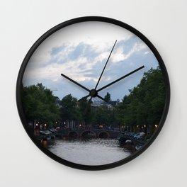 Amsterdam lights Wall Clock