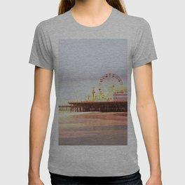 Santa Monica Pier Sunrise T-shirt
