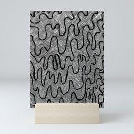 Screen Door Abstract Mini Art Print
