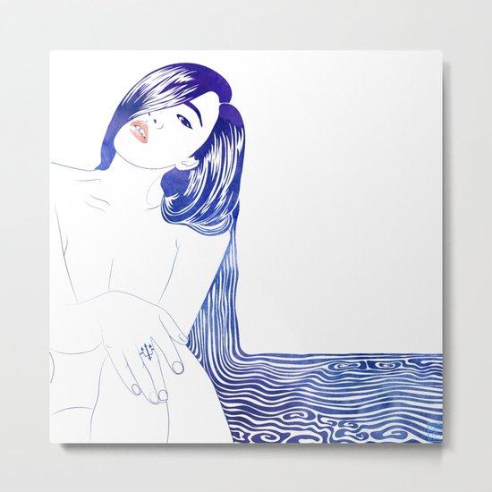 Water Nymph XL Metal Print
