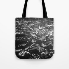 Fly Over Cities Tote Bag