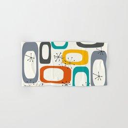 Mid Century Modern Shapes 02 #society6 #buyart Hand & Bath Towel