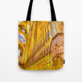 Barcelona Cathedral Choir Art Tote Bag