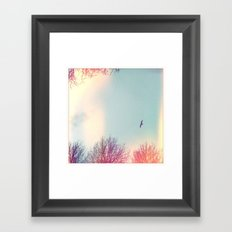 too late for south Framed Art Print