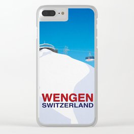 Wengen Clear iPhone Case