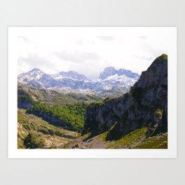 Picos De Europa III Art Print