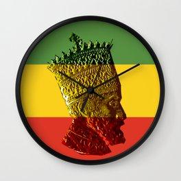 Selassie I Wall Clock