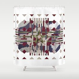 Flannel 05a Shower Curtain