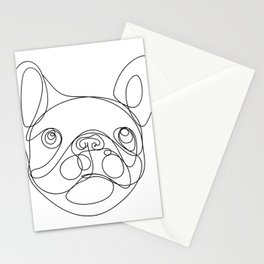 Chaca the Frenchie Stationery Cards