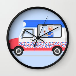 Ice-cream Truck Wall Clock
