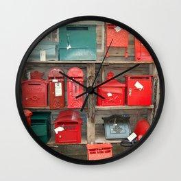 Where's The Post Box Wall Clock