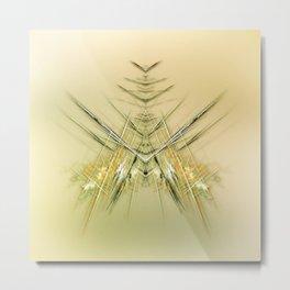 Fliege Metal Print