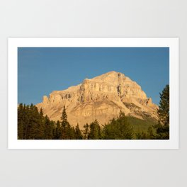 Other Side of Mountain Art Print