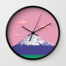 MT. FUJI (PASTEL TONES) Wall Clock