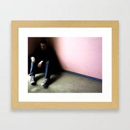 In the Corner #1 Framed Art Print