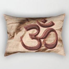 Kraftsymbol OM Rectangular Pillow