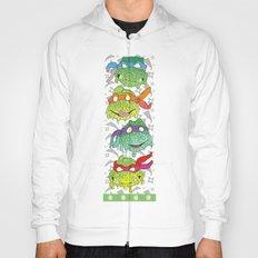 Teenage (a Little Too Mutated) Ninja Turtles Hoody